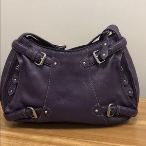 Maxx New York Signature Purple Bag